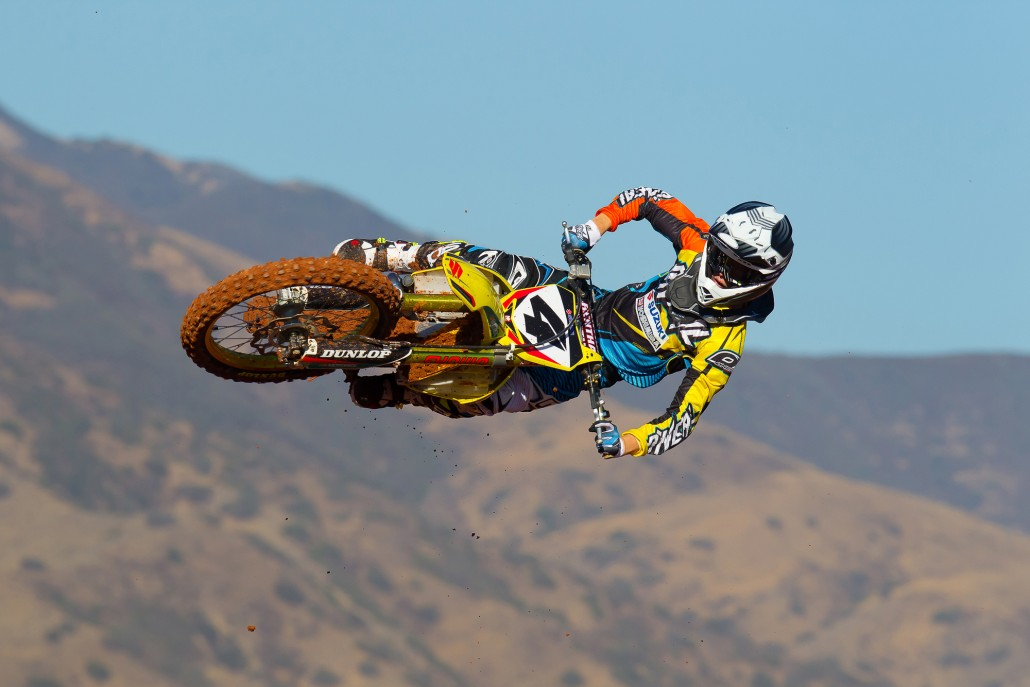 O'Neal team rider Blake Baggett