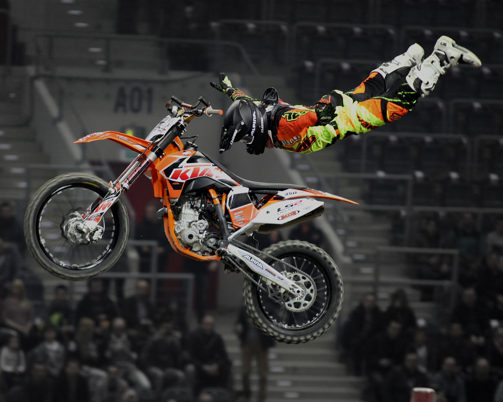O'NEAL FMX team rider Hannes Ackermann