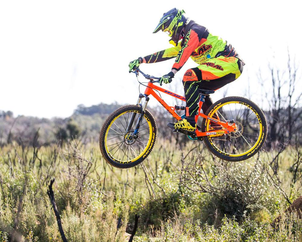O'NEAL team rider Quentin Derbier