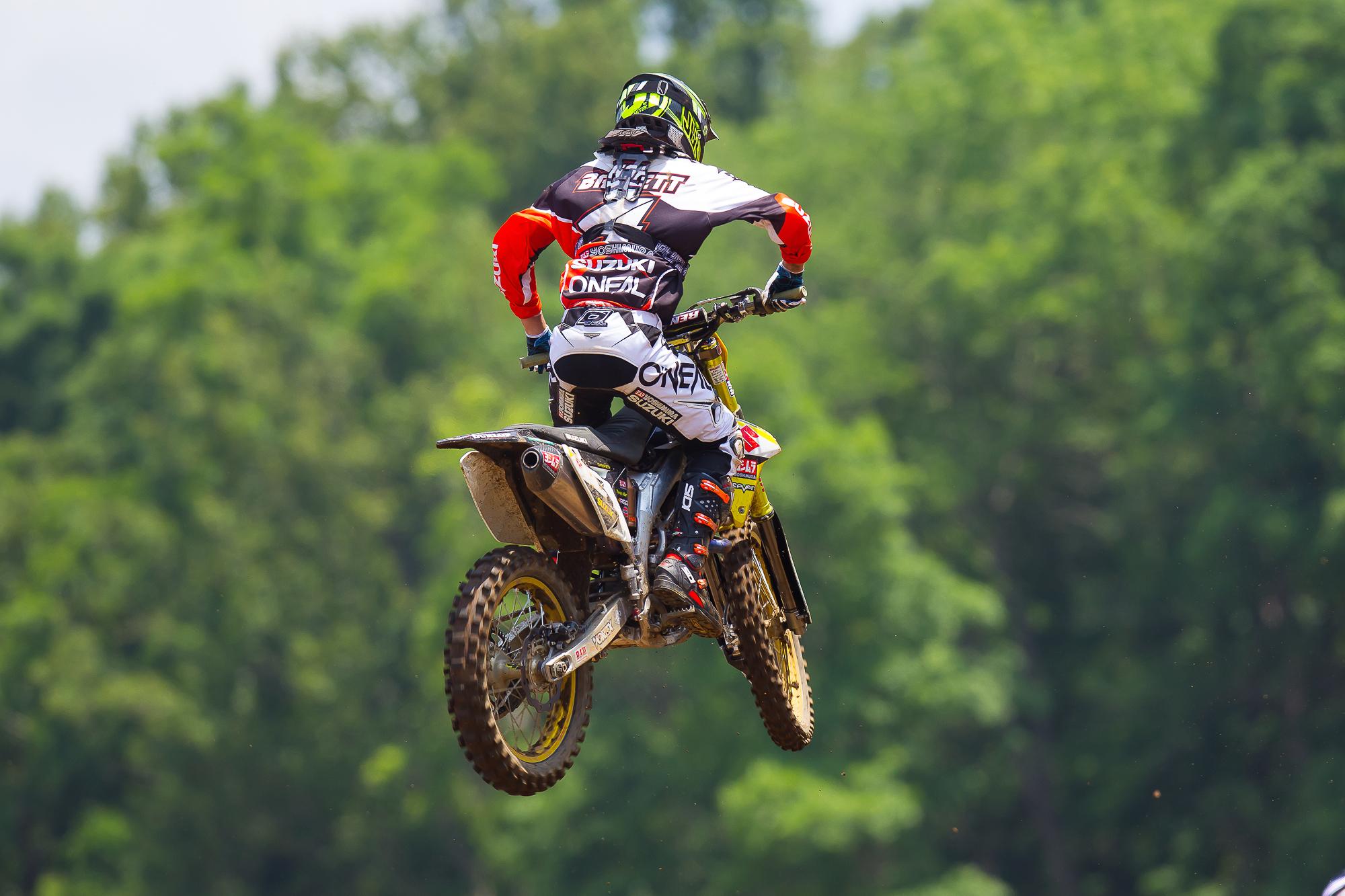 O'NEAL team rider BLAKE BAGGETT TAKES FOURTH AT MUDDY CREEK MOTOCROSS