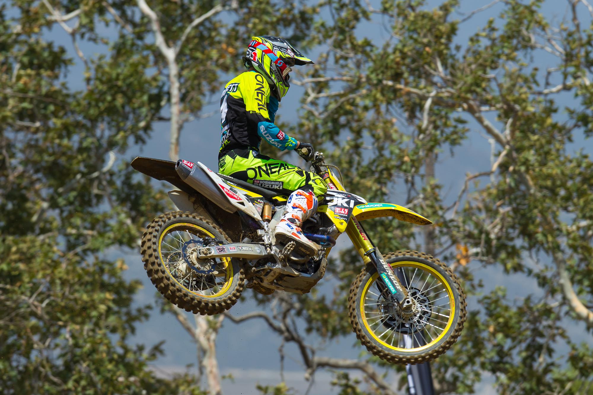 Baggett at Glen Helen Motocross 2016