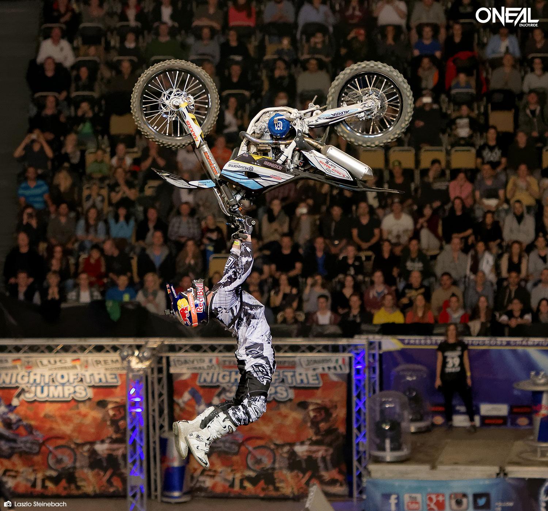 O'Neal Team Rider Luc Ackermann