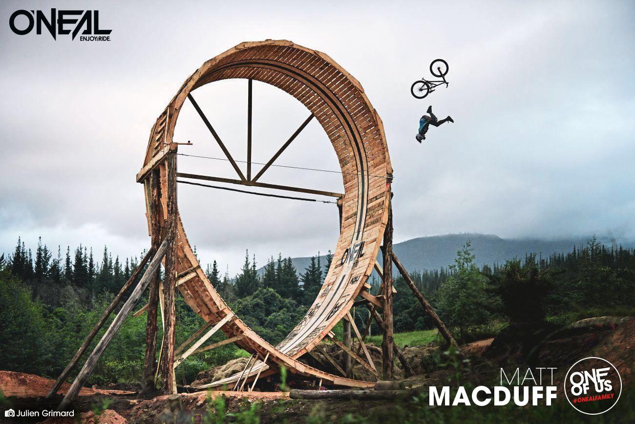 O'NEAL team rider Matt MacDuff