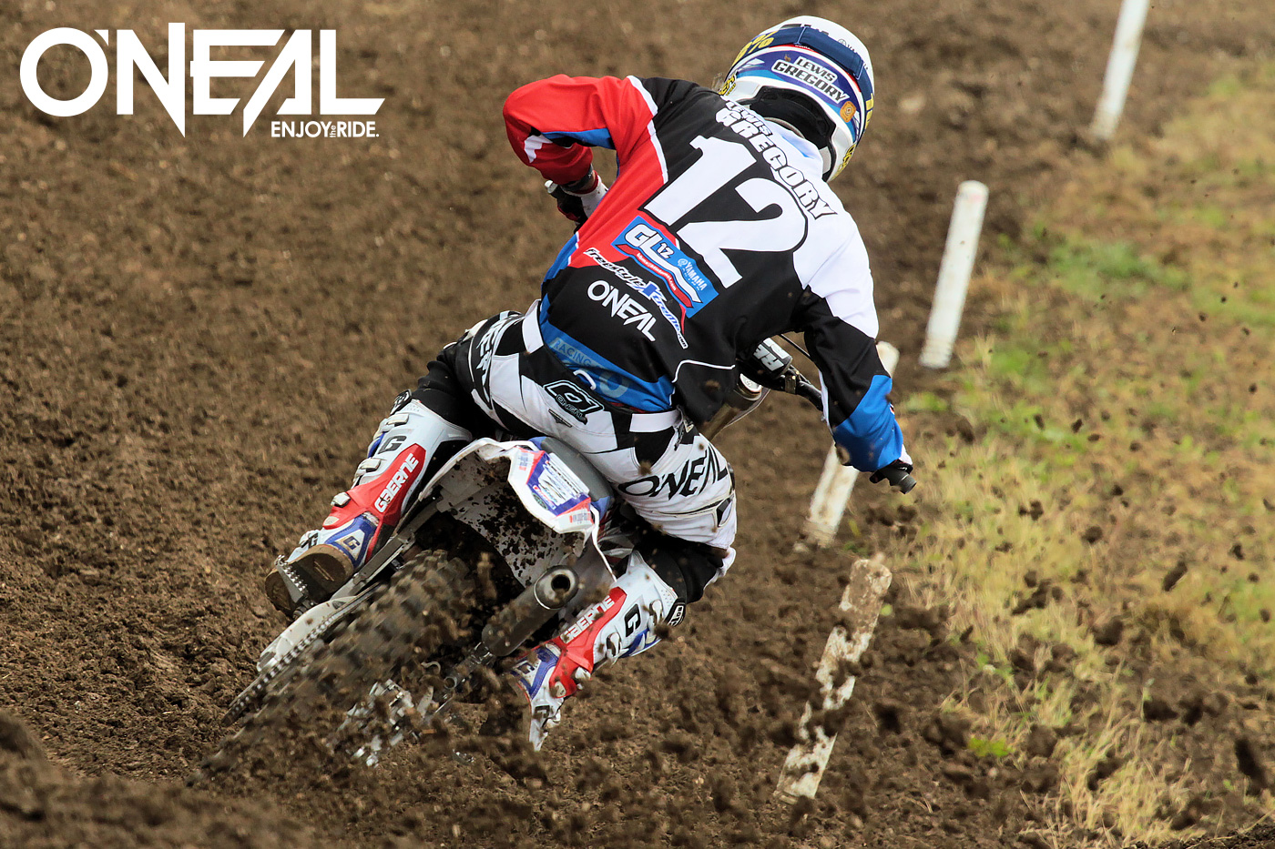 O'Neal supported GL12 Yamaha riders Brad Anderson and Lewis Gregory continued their domination of the EMX300 class at Matterley Basin last weekend.