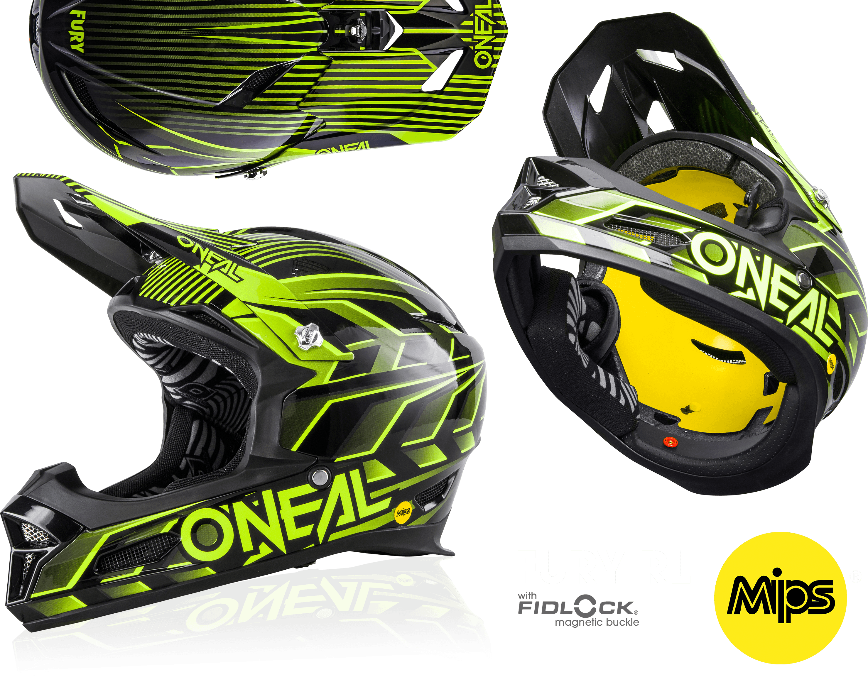 O'Neal Fury RL MIPS Helmet
