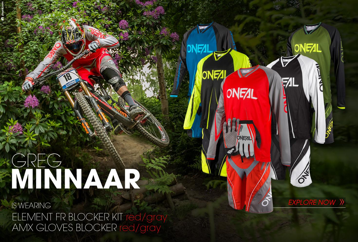 O'Neal Element FR Blocker Gear Kit - Greg Minnaar