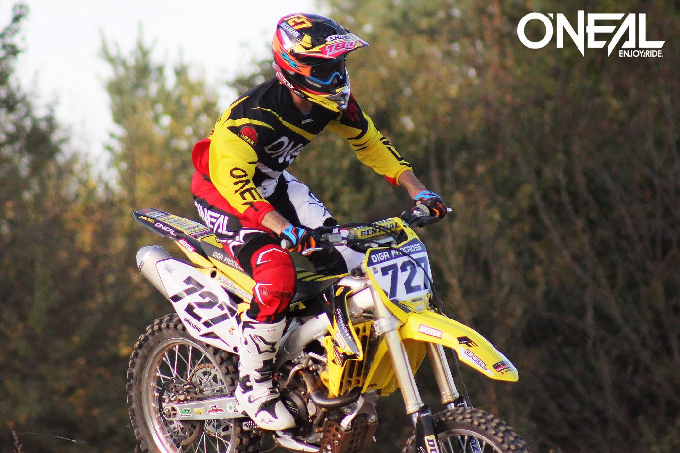 O'Neal Team Rider Boris Maillard
